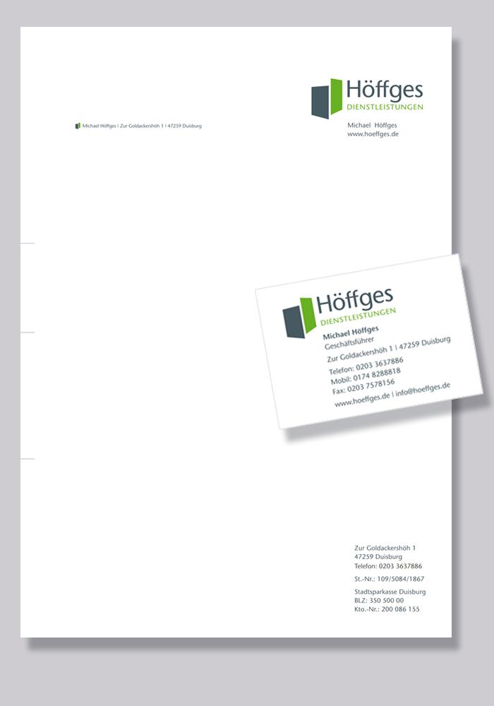 Höffges Duisburg lonsdorfer corporate design